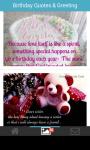 Birthday quotes card greeting wallpaper screenshot 4/6