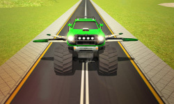 Flying Truck Pilot Driving 3D screenshot 1/4