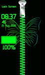 Neon Zipper Lock Screen screenshot 4/6