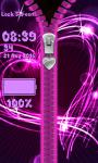 Neon Zipper Lock Screen screenshot 5/6