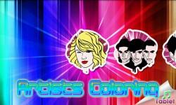 Celebrity Artist Coloring TABLET screenshot 1/3
