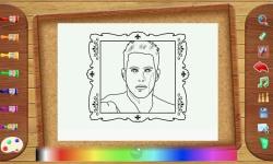 Celebrity Artist Coloring TABLET screenshot 3/3