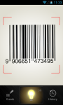 Secure QR and Barcode reader screenshot 1/6