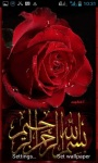 Islamic Red Rose LWP screenshot 1/3
