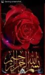 Islamic Red Rose LWP screenshot 2/3