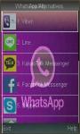 WhatsApp Alternatives Latest screenshot 1/1