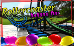 Roller Coaster balloon Fun screenshot 1/6