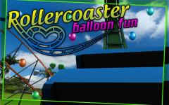 Roller Coaster balloon Fun screenshot 2/6