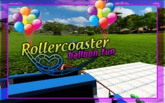 Roller Coaster balloon Fun screenshot 3/6