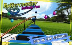 Roller Coaster balloon Fun screenshot 4/6