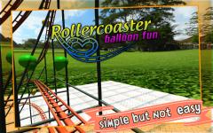 Roller Coaster balloon Fun screenshot 5/6