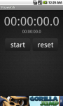 Simple Stopwatch For Android screenshot 1/3