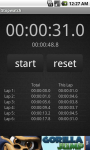 Simple Stopwatch For Android screenshot 3/3