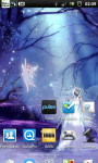 Fairy Sparkle Night Forest Live Wallpaper screenshot 2/6