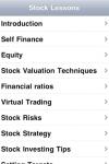 Stock Market Lessons screenshot 1/1