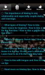 How to Kiss and Hot Kissing Tips screenshot 2/3
