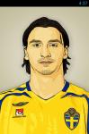 Zlatan Ibrahimovic Live Wallpaper Free screenshot 1/5