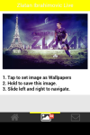 Zlatan Ibrahimovic Live Wallpaper Free screenshot 4/5