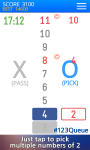 123Queue - Tap The Multiple Number screenshot 1/5