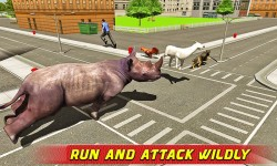 Angry Rhino Revenge Simulator screenshot 1/4