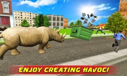 Angry Rhino Revenge Simulator screenshot 2/4