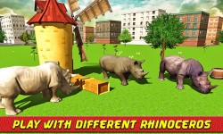 Angry Rhino Revenge Simulator screenshot 3/4