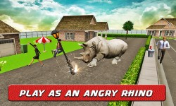 Angry Rhino Revenge Simulator screenshot 4/4