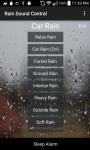 Rain Sound Central screenshot 1/3