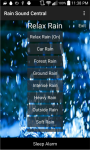 Rain Sound Central screenshot 2/3