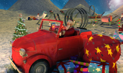 Extreme x-mas car stunt racing screenshot 1/4