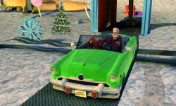 Extreme x-mas car stunt racing screenshot 3/4