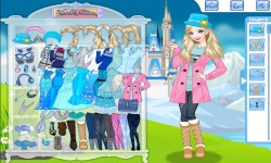 Dress Up Elsa Princess screenshot 1/4