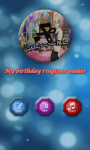 birthday ringtone maker screenshot 1/4