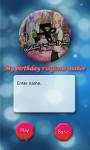 birthday ringtone maker screenshot 2/4
