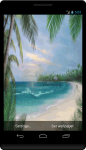 Summer Beach Island LWP screenshot 2/2