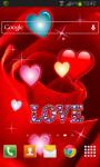 Rose Hearts Live Wallaper screenshot 2/2