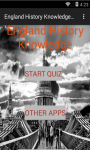 England History Knowledge test screenshot 1/6