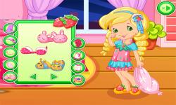 Good Night Strawberry Dress Up Game screenshot 3/3