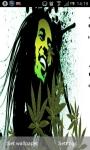 Bob Marley Pot Leaf Live Wallpaper screenshot 2/6