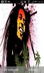 Bob Marley Pot Leaf Live Wallpaper screenshot 3/6
