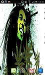 Bob Marley Pot Leaf Live Wallpaper screenshot 5/6