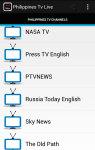 Free Philippines Tv Live screenshot 3/5