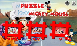 Puzzle Mickey Mouse-SS screenshot 1/5