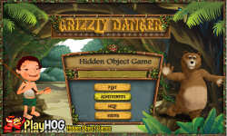 Free Hidden Object Games - Grizzly Danger screenshot 1/4