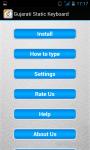 Gujarati Static Keypad IME screenshot 5/6