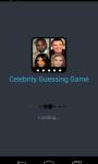 Celebrity guessin game screenshot 2/3