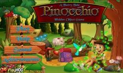 Free Hidden Object Games - Pinocchio screenshot 1/4