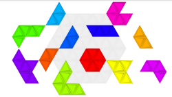 Triangle Puzzle screenshot 1/6