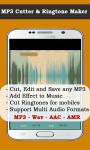 Mp3 Cutters screenshot 1/3