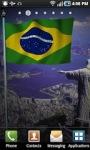 Brazil Flag LWP screenshot 1/2